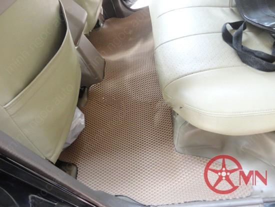 Thảm lót sàn ô tô cao su không mùi