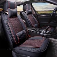 Bọc ghế, lót ghế da và lụa ô tô  LG115 Đen
