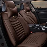Bọc nhanh ghế da 6D ô tô màu nâu KN120