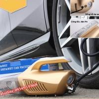 Máy bơm lốp kết hợp máy hút bụi ô tô 4 IN 1