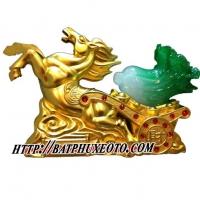Ngựa vàng dâng cải lộc PT130